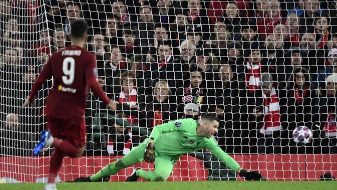 Pesan Adrian untuk Fans Setelah Liverpool Tersingkir dari Liga Champions