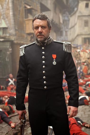 LES MISERABLES, Russell Crowe, 2012.
