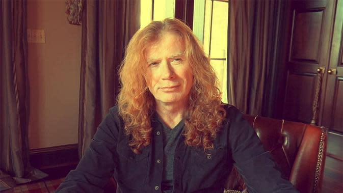 Vokalis Megadeth Dave Mustaine (Instagram/ davemustaine)