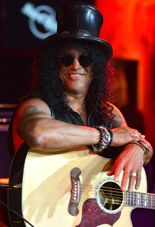 Slash Speaks After Hollywood Walk of Fame Dedication