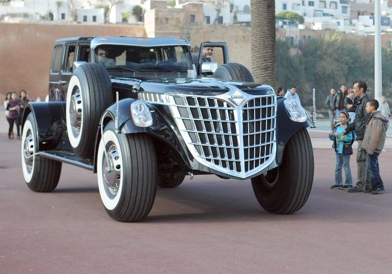UAE royal's amazing car