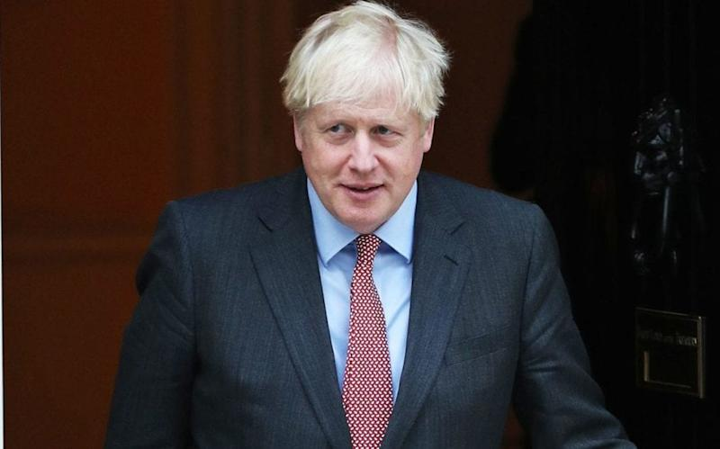 Boris Johnson will make a televised address to the nation on Tuesday evening - Yui Mok/PA