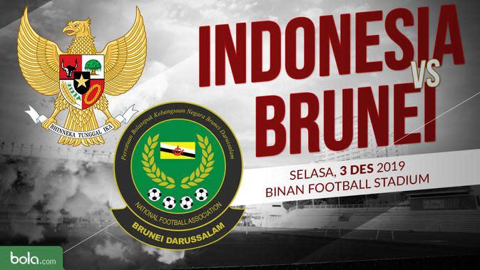 Sepak Bola Putra SEA Games 2019: Indonesia vs Brunei. (Bola.com/Dody Iryawan)