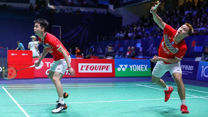 Final Fuzhou China Terbuka 2019, Duel ke-15 Kevin / Marcus Vs Kamura / Sonoda