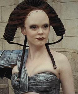 Rose McGowan Gets a Freaky New Look in 'Conan the Barbarian'