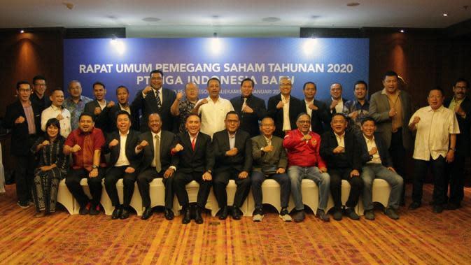 Direksi baru PT Liga Indonesia Baru (LIB). (PSSI).