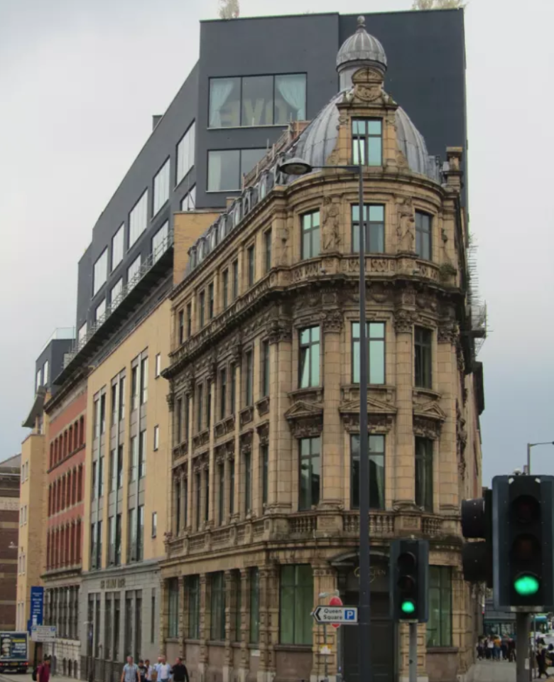 "<p>Shankly Hotel, Liverpool by Signature Living. The modern rooftop extension to the hotel has been labelled as ""grotesque"". </p>"