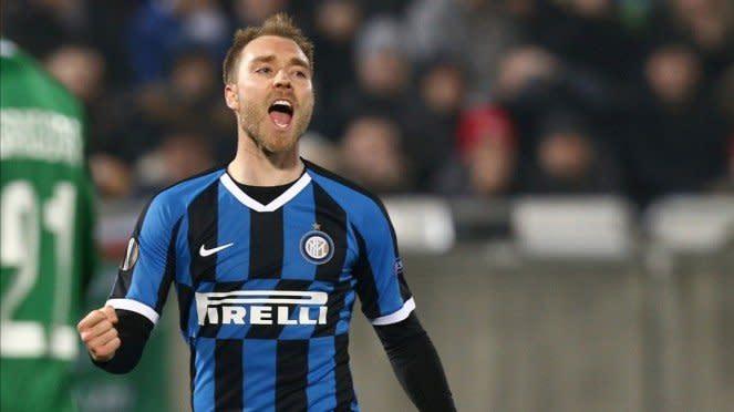 Pemain Inter Milan, Christian Eriksen.