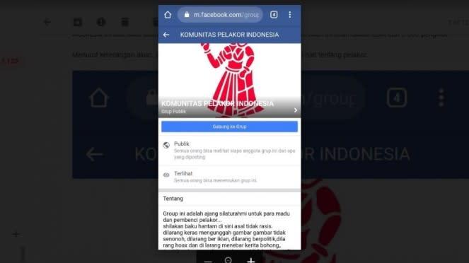 Komunitas Pelakor indonesia jadi viral