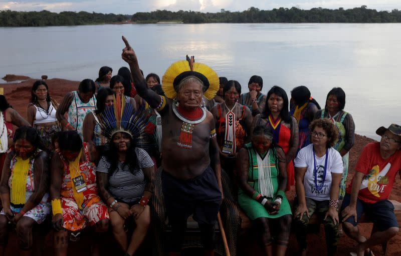 Amazon tribes gather to plan resistance to Brazil government in Xingu Indigenous Park