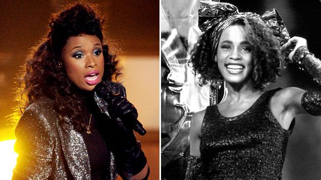 Jennifer Hudson Dons Whitney Houston's 1980′s Looks At Tribute