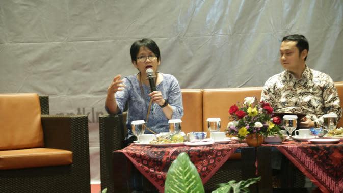 Direktur Penempatan dan Perlindungan Tenaga Kerja Luar Negeri Eva Trisiana