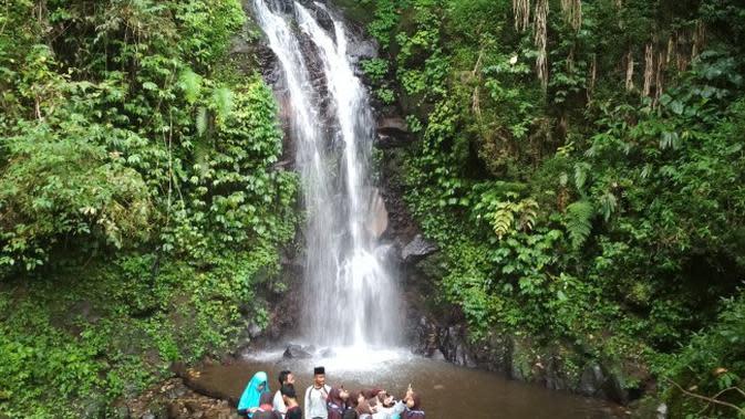 Ipukan salah satu objek wisata yang ada di kawasan Gunung Ciremai. Foto (Liputan6.com / Panji Prayitno)