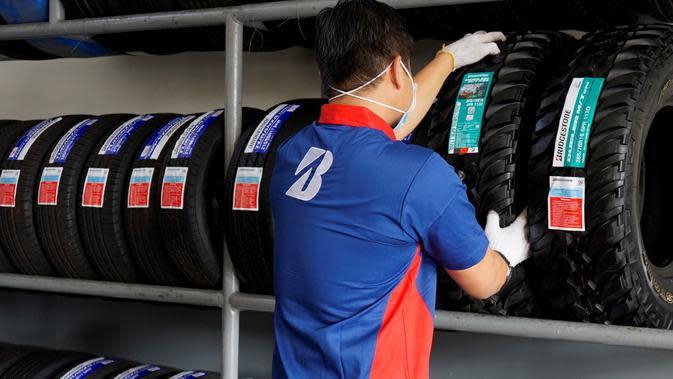 Kurangi Sampah Plastik, Bridgestone Gunakan Label Baru