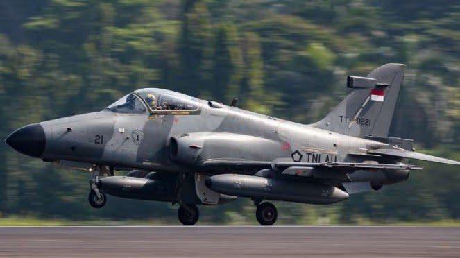VIVA Militer: Jet tempur TNI Angkatan Udara, BAE Hawk 209