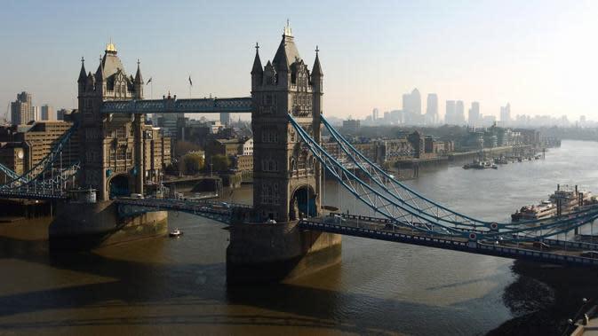 London saat ini memegang tempat nomor tiga, kota ini diperkirakan akan turun ke nomor lima. (Liputan6.com/GettyImages/Richard Heathcote)