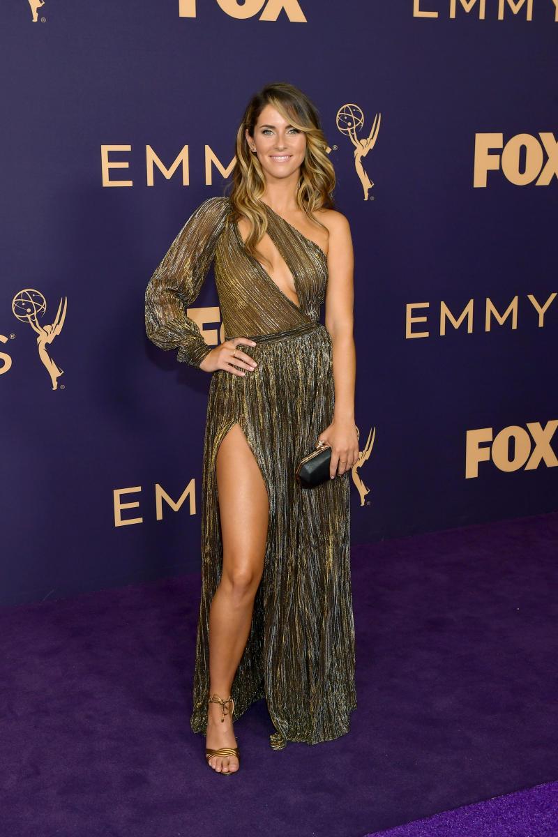 Rachel Bonnetta at the 2019 Emmy Awards