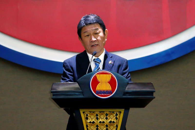 Menlu Jepang: Pemerintah belum memutuskan pelonggaran larangan masuk