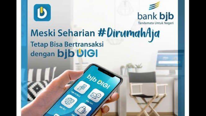Lebaran #dirumahaja, bank bjb Sebar Promo Seru Idulfitri 2020