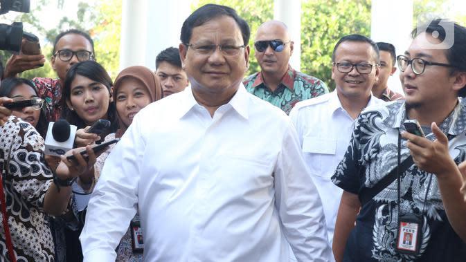 Prabowo Rapat Perdana Bersama DPR Hari Ini