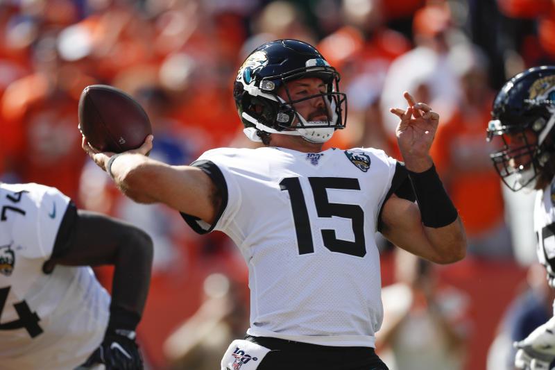 Jacksonville Jaguars quarterback Gardner Minshew.