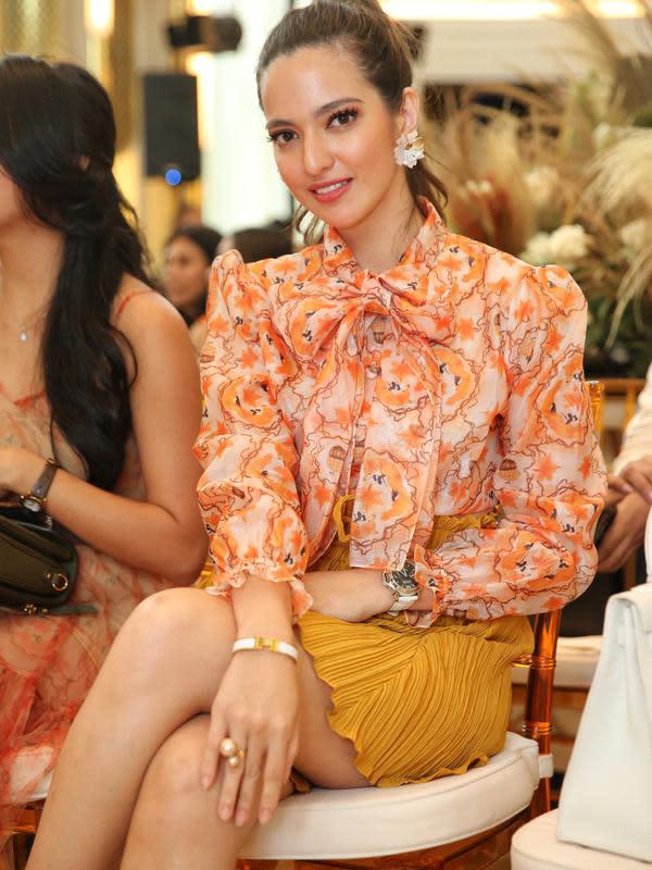 Hal itu dibenarkan oleh sang desainer, Alexa Belvana Quinn yang juga sahabat Nia Ramadhani. (Adrian Putra/Fimela.com)