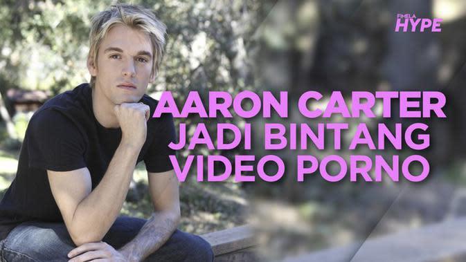 Aaron Carter Jadi Bintang Video Erotis