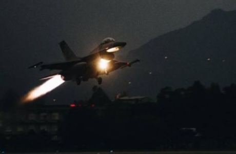 F-16戰機失聯 海空全面搜救
