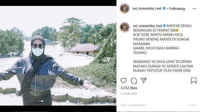 Evi Masamba (Foto: Instagram/@evi_masamba_real)