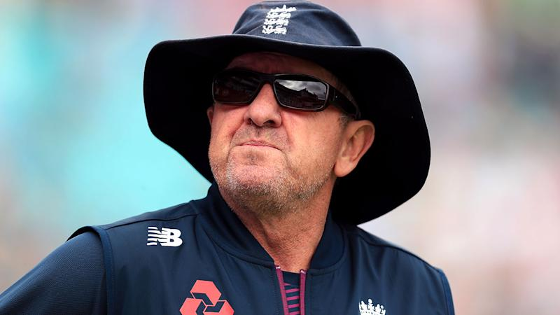 Trevor Bayliss, pictured here during the Ashes series.
