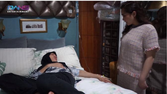 Dorce jatuh sakit (Sumber: YouTube/Rans Entertainment)