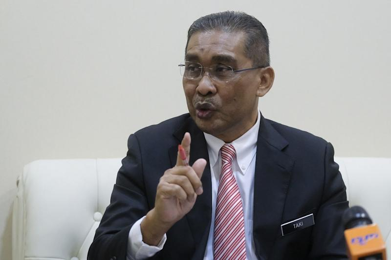De facto Law Minister Datuk Takiyuddin Hassan said that a police investigation is underway to verify the possible unlawful release of information used for official investigations. — Bernama pic