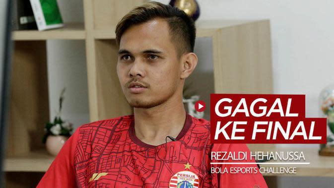VIDEO: Bek Persija Jakarta, Rezaldi Hehanussa Gagal Tantang Andritany Ardhiyasa di Final BOLA Esports Challenge