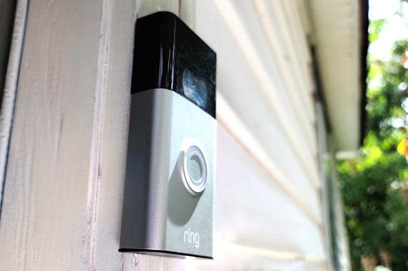 Ring Video Doorbell 2nd gen on doorway