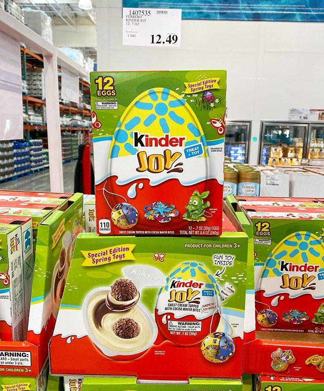 """<p>If you don't feel like filling a million plastic eggs with coins and candy, these chocolate bites make the easiest Easter egg hunt ever. They even include their own toys! You can find them at Costco. </p><p><a href=""""https://www.instagram.com/p/B-Id4NXHrJ2/"""">See the original post on Instagram</a></p>"""