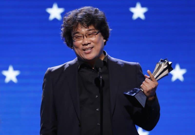 Bong, sutradara film 'Parasite' gembira karena bahasa tidak lagi jadi kendala