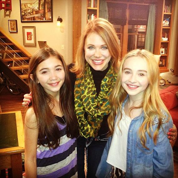"""Girl Meets World"" Rowan Blanchard, Maitland Ward, and Sabrina Carpenter"