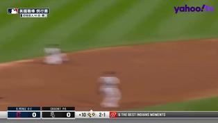 【MLB好球】Roberto Pérez打得刁鑽 印地安人破蛋啦!