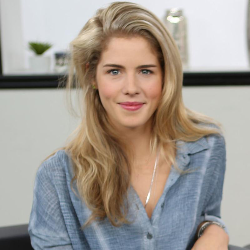 Arrow's Emily Bett Rickards on That Awkward Almost Kiss