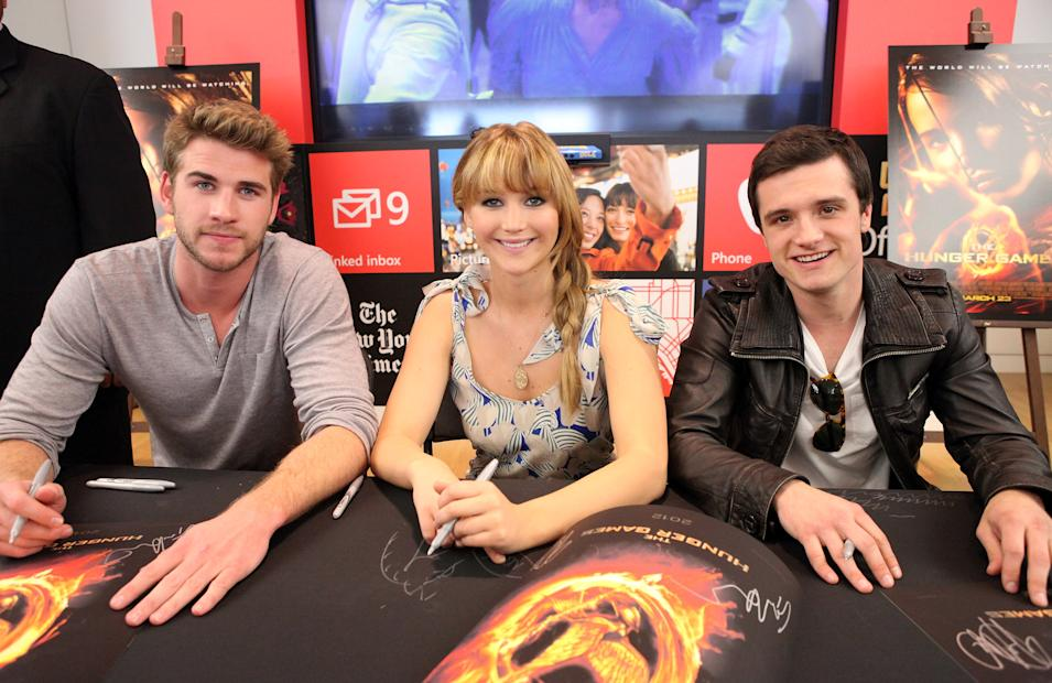 The Hunger Games U.S. Mall Tour Kick-Off At LA's Century City