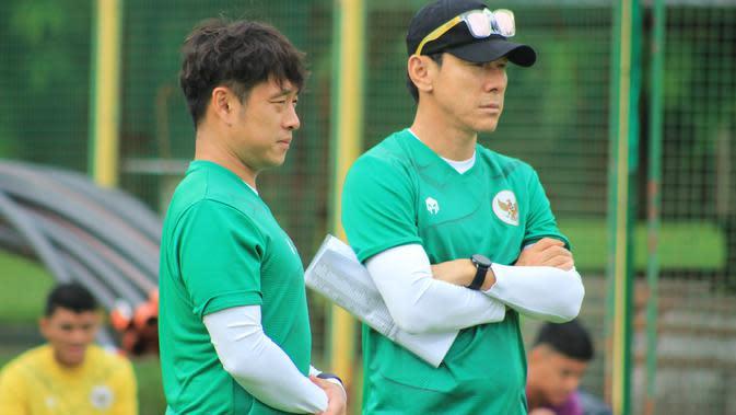 Pelatih Timnas Indonesia U-19, Shin Tae-yong di Kroasia. (PSSI).