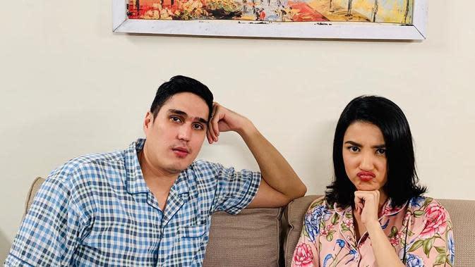 Jadi Pasangan di Sinetron 'Istri Kedua', Ini Potret Kompak Tsania Marwa dan Marcel Chandrawinata. (Sumber: Instagram/tsaniamarwa54)