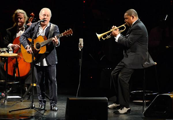 Paul Simon Gets a Jazz Infusion From Wynton Marsalis at Lincoln Center