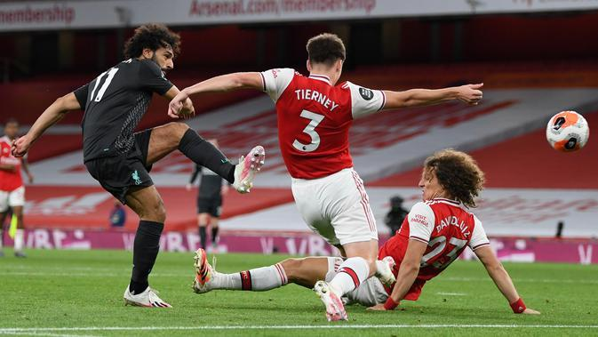 Arsenal Vs Liverpool (AFP/ Glyn Kirk)