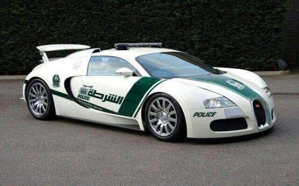 Dubai imagines a Bugatti Veyron as its latest useless cop car