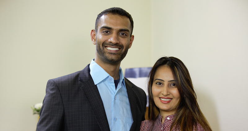 Sparkle co-founders Chirag and Hetal Virani