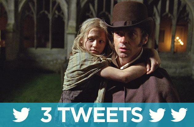 Three Tweets: #LesMis (or #LesMiz) summed up in brief