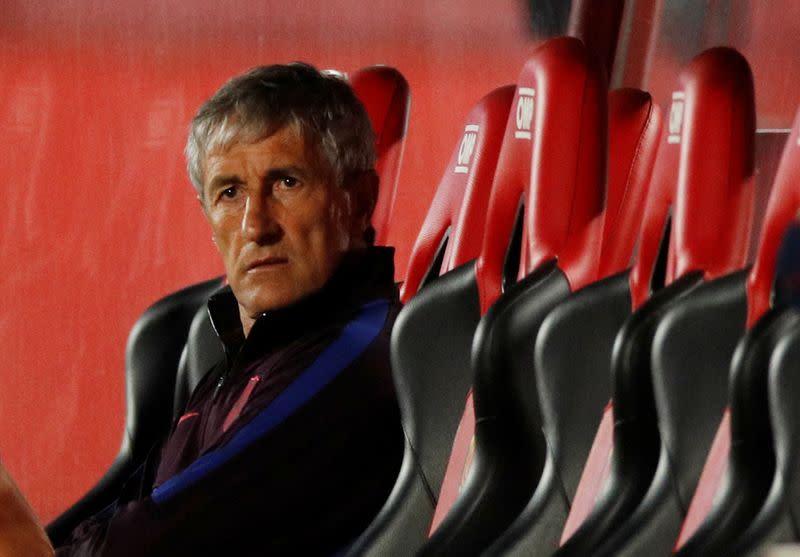 Slick return bodes well for Barca title bid, says Setien
