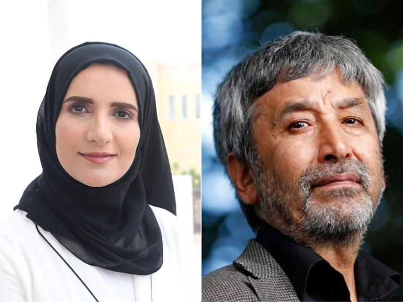 Jokha Alharthi (left) and Hamid Ismailov (right) are two of the featured speakers.