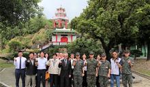 長興材料公司慰訪陸戰99旅 感謝陸戰健兒衛國辛勞